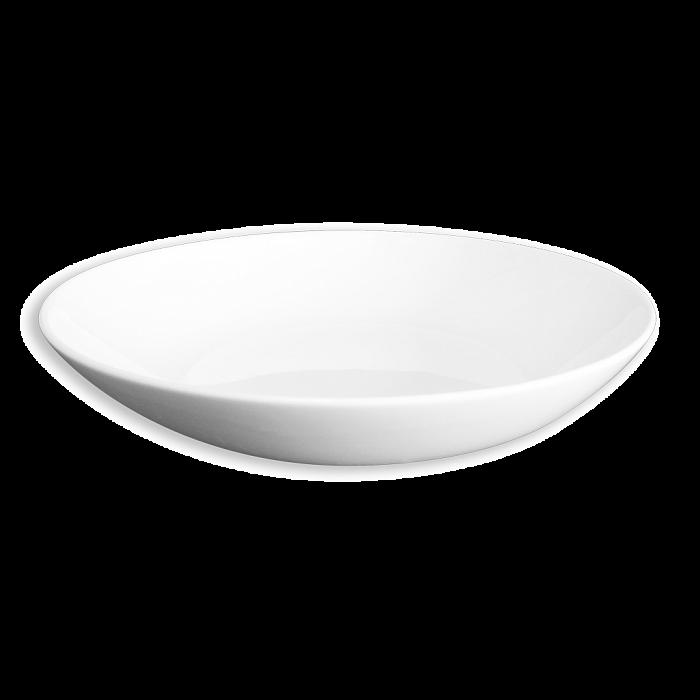 Тарелка для супа белого цвета