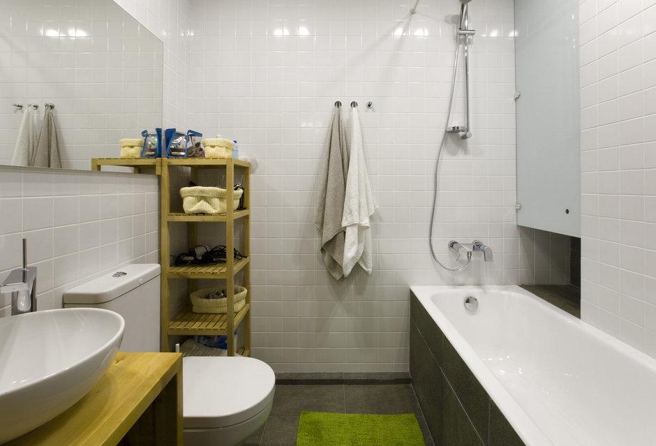 Фотография: Ванная в стиле Современный, Декор интерьера, Квартира, Дома и квартиры, IKEA, Перегородки – фото на InMyRoom.ru