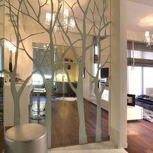 Фотография: Декор в стиле Современный, Декор интерьера, DIY, Малогабаритная квартира, Квартира, Белый, Бежевый, Серый – фото на InMyRoom.ru