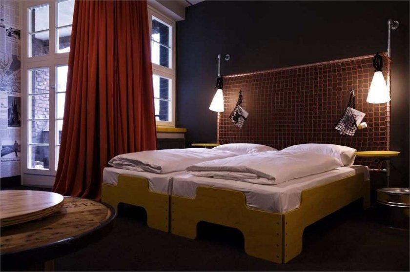 Фотография: Спальня в стиле Современный, Дома и квартиры, Городские места, Отель, Проект недели, Хостел – фото на InMyRoom.ru