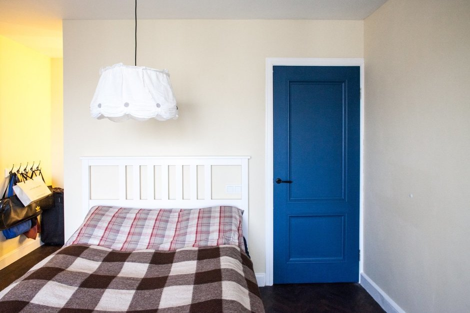Фотография: Спальня в стиле Современный, Малогабаритная квартира, Квартира, Дома и квартиры, IKEA – фото на InMyRoom.ru