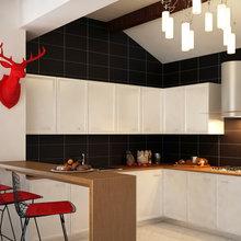 Фото из портфолио кухня в скандинавском стиле – фотографии дизайна интерьеров на InMyRoom.ru