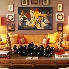 Фотография: Гостиная в стиле Кантри, Декор интерьера, Декор дома, Стены, Картина – фото на InMyRoom.ru