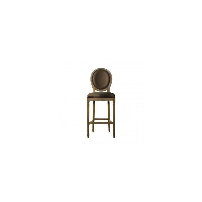 Барный стул Vintage louis round high