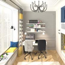 Фото из портфолио Квартира с французскими акцентами – фотографии дизайна интерьеров на INMYROOM