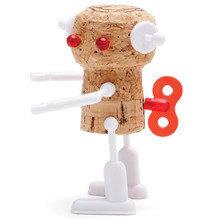 Декор для винной пробки robots белла