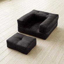 """Кресло-кровать """"Cube BLACK VINTAGE"""""""
