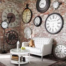 Фотография: Гостиная в стиле Кантри, Лофт, Современный, Декор интерьера, Часы, Декор дома – фото на InMyRoom.ru