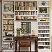 Фотография: Декор в стиле Кантри, Кабинет, Интерьер комнат, Системы хранения – фото на InMyRoom.ru
