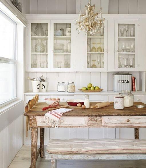 Фотография: Кухня и столовая в стиле Кантри, Декор интерьера, Дом, Дом и дача, как оформить маленький дом – фото на InMyRoom.ru