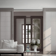 Фото из портфолио Межкомнатные раздвижные двери Mystery – фотографии дизайна интерьеров на InMyRoom.ru