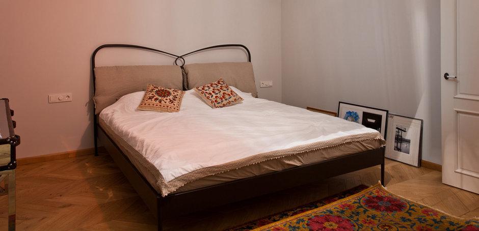 Фотография: Спальня в стиле Скандинавский, Эклектика, Квартира, Проект недели – фото на InMyRoom.ru