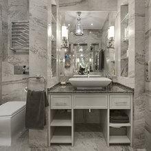Фото из портфолио Ар-деко на Мосфильмовской – фотографии дизайна интерьеров на INMYROOM
