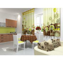 Кухонная скатерть: Шоколадная река
