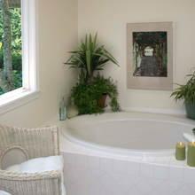 Фотография: Ванная в стиле Современный, Интерьер комнат, Ванна – фото на InMyRoom.ru