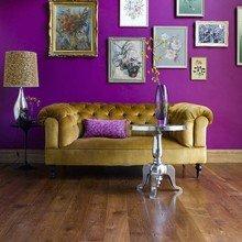Фотография: Мебель и свет в стиле Кантри, Декор интерьера, DIY, Дом, Декор дома, Цвет в интерьере, Обои – фото на InMyRoom.ru