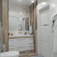 Фото из портфолио Проект ванной комнаты в г. Барнаул – фотографии дизайна интерьеров на INMYROOM