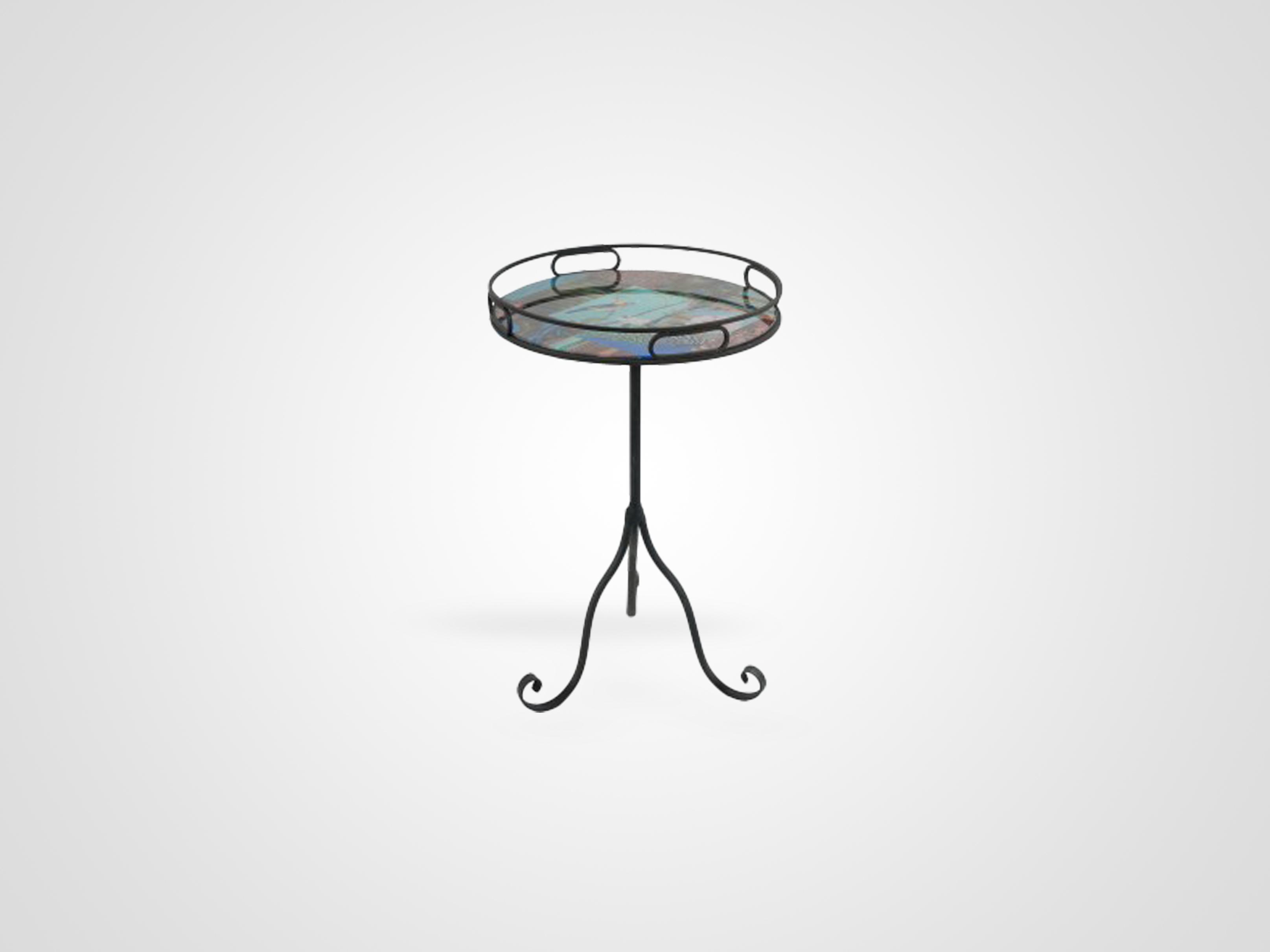 Купить Приставной журнальный столик на металлической ножке, inmyroom, Китай