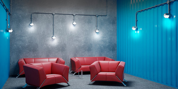 """Фото из портфолио Дизайн проект офиса """"Innovecs"""" – фотографии дизайна интерьеров на INMYROOM"""