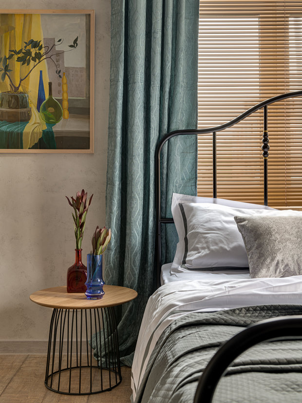 Фотография: Спальня в стиле Лофт, Малогабаритная квартира, Квартира, Студия, Проект недели, Красногорск, до 40 метров, Элина Богомолова – фото на INMYROOM