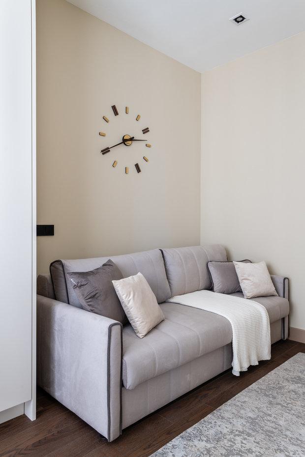 Фотография: Кабинет в стиле Современный, Квартира, Проект недели, Москва, 3 комнаты, 60-90 метров, Карина Римик – фото на INMYROOM