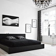 Фотография: Спальня в стиле Современный, Дизайн интерьера, Цвет в интерьере – фото на InMyRoom.ru