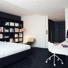 Фотография: Спальня в стиле Современный, Декор интерьера, Квартира, Дом, Декор, Белый, Черный – фото на InMyRoom.ru