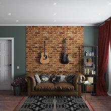 Фото из портфолио Стиль - Сити Лофт – фотографии дизайна интерьеров на INMYROOM