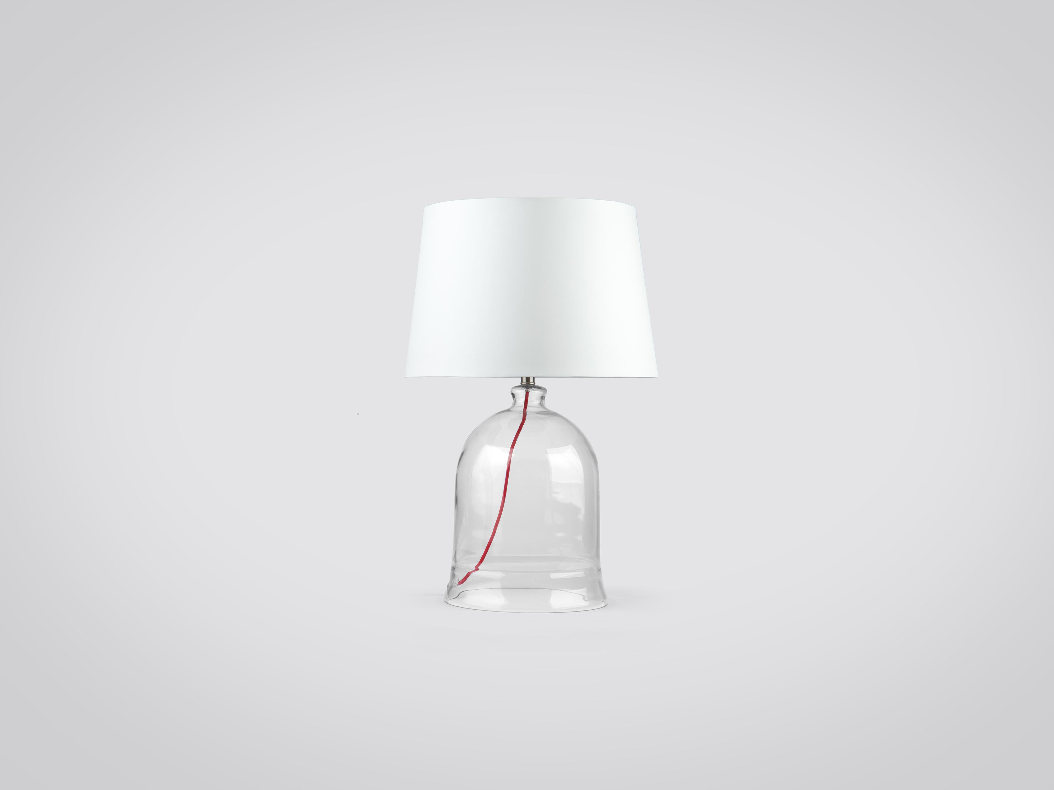 Купить Лампа настольная с белым абажуром, inmyroom, Китай