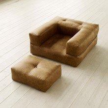 """Кресло-кровать Cube """"COGNAC VINTAGE"""""""