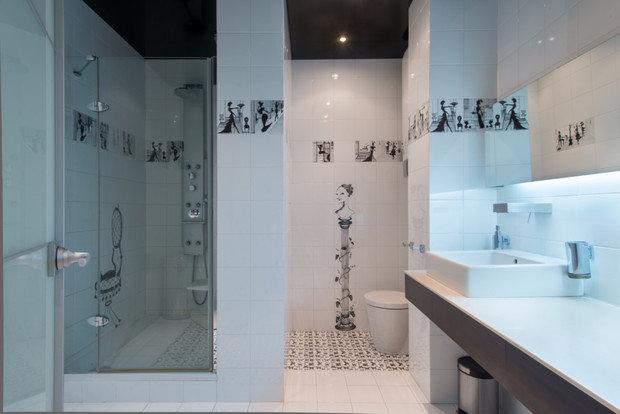 Фото из портфолио Дизайн двухуровневой квартиры площадью 150 кв.м. в Крылатском в ЖК Сосновка для семьи с двумя детьми – фотографии дизайна интерьеров на INMYROOM