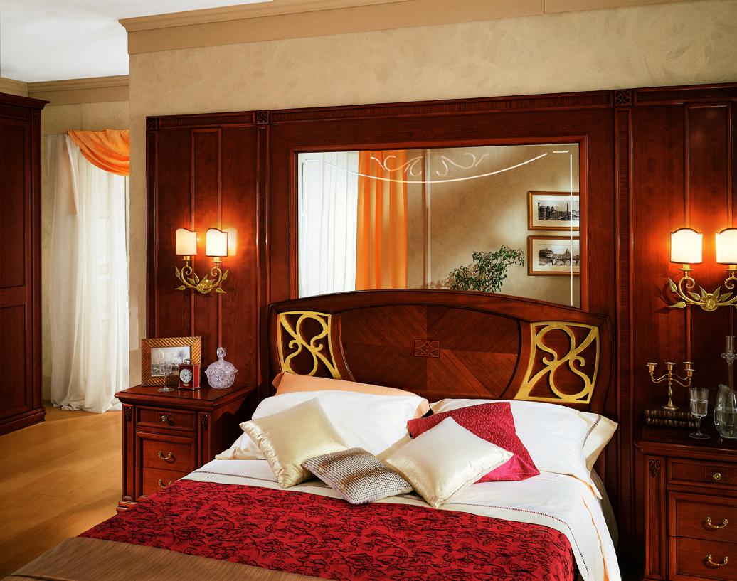 Спальная мебель и освещение