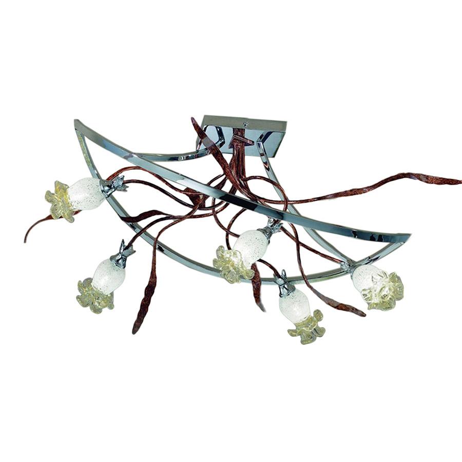 Купить Потолочный светильник mm Lampadari из кованного металла с оригинальным дизайном, inmyroom, Италия