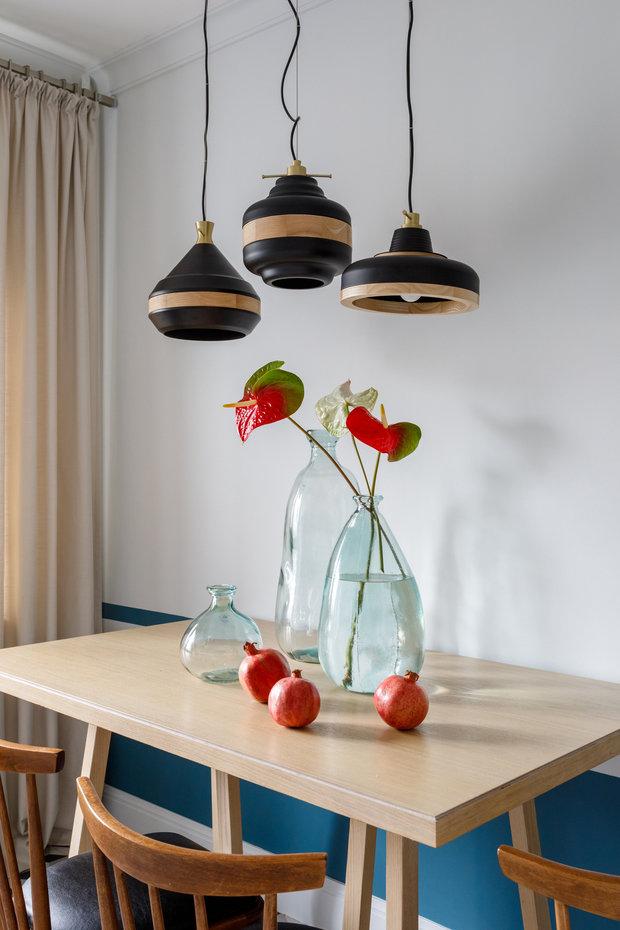 Фото из портфолио Трехкомнатная квартира в Москве, 60 м2 – фотографии дизайна интерьеров на INMYROOM