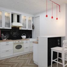 Фотография: Кухня и столовая в стиле Скандинавский, Современный, Квартира, Дома и квартиры, IKEA – фото на InMyRoom.ru