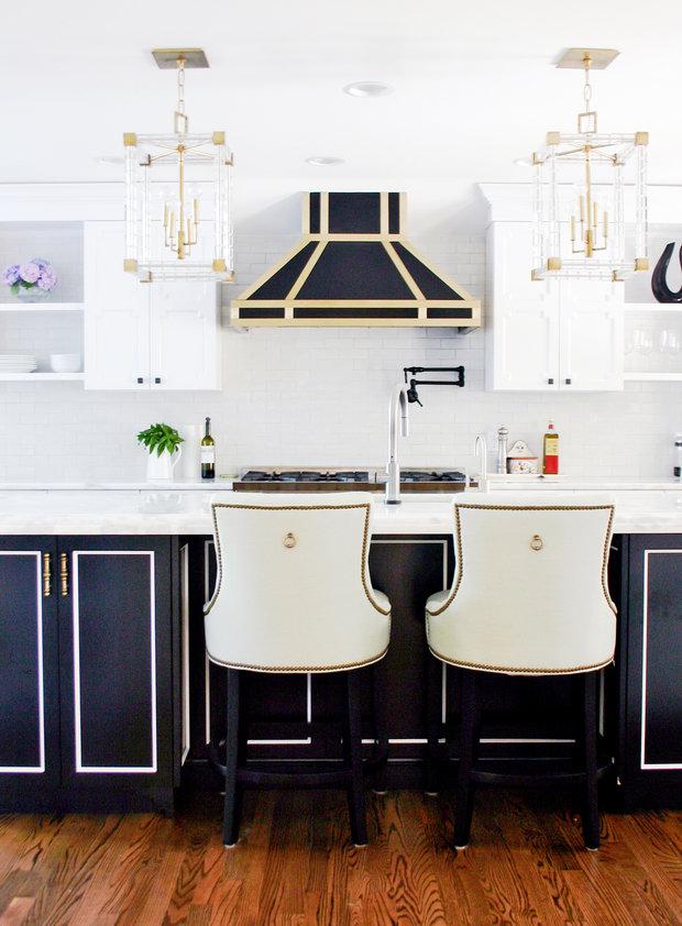 Фотография: Кухня и столовая в стиле Эклектика, Декор интерьера, Дизайн интерьера, Цвет в интерьере – фото на InMyRoom.ru