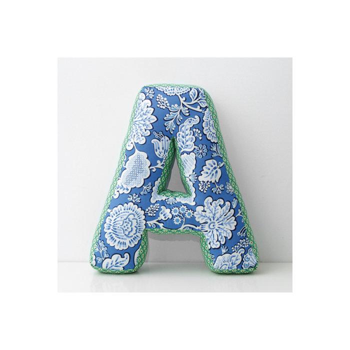 Подушка Home Alphabet A