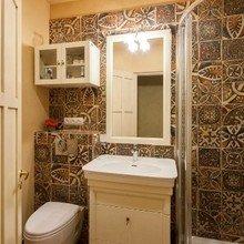Фотография: Ванная в стиле Кантри, Советы, Гид, хранение вещей – фото на InMyRoom.ru