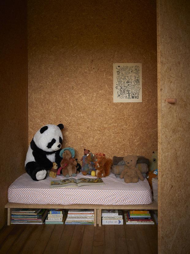 Фотография: Детская в стиле Эко, Современный, Минимализм, Дом и дача, 3 комнаты, Индивидуальный проект – фото на INMYROOM