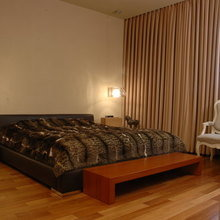 Фотография: Спальня в стиле Эклектика, Квартира, Дома и квартиры – фото на InMyRoom.ru