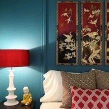 Фотография: Спальня в стиле Восточный, Советы, Красный, Виктория Тарасова – фото на InMyRoom.ru