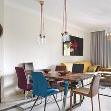 Фотография: Гостиная в стиле Эклектика, Квартира, Испания, Проект недели, Ксения Турик – фото на InMyRoom.ru
