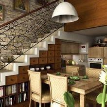 Фотография: Кухня и столовая в стиле Современный, Декор интерьера, Хранение, Декор дома, Советы – фото на InMyRoom.ru