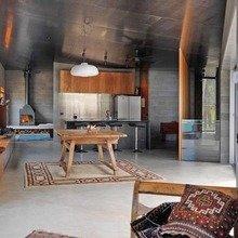 Фотография: Кухня и столовая в стиле Лофт, Дом, Австралия, Дома и квартиры – фото на InMyRoom.ru