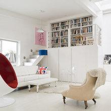 Фотография: Гостиная в стиле , Квартира, Дома и квартиры, Лондон – фото на InMyRoom.ru