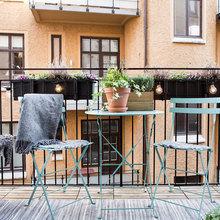 Фотография: Балкон в стиле Скандинавский, Декор интерьера, Квартира, Швеция, Советы – фото на InMyRoom.ru