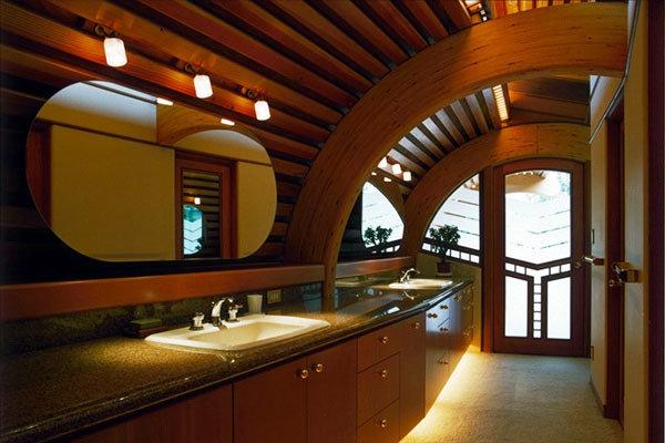 Фотография: Ванная в стиле Современный, Декор интерьера, Дом, Дома и квартиры, Архитектурные объекты, Япония – фото на InMyRoom.ru