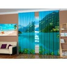 Дизайнерские фотошторы: Горное озеро