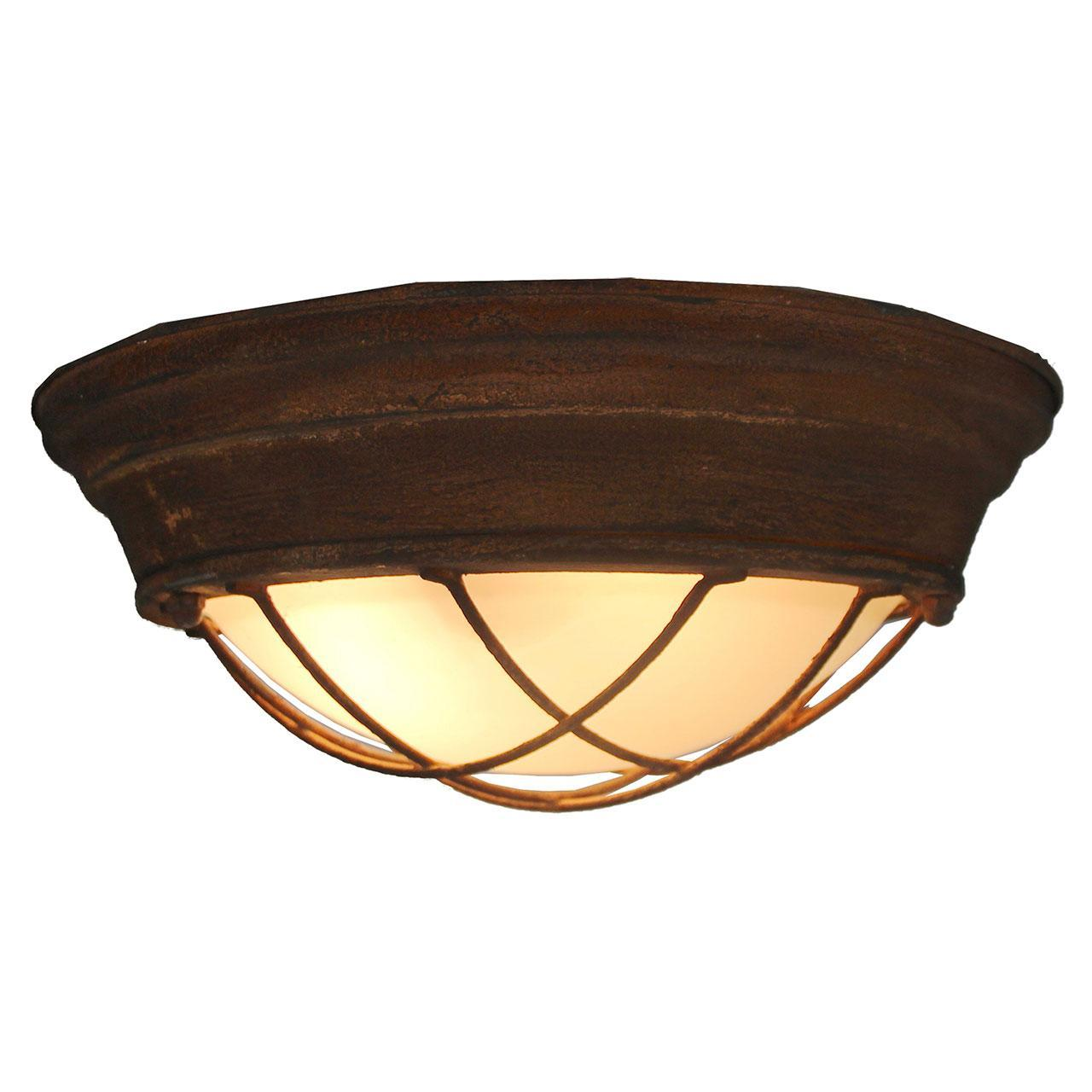 Купить со скидкой Потолочный светильник в стиле лофт