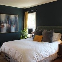 Фотография: Спальня в стиле Кантри, Дом, Дома и квартиры, Ретро, Плитка, Ар-деко, Лос-Анджелес – фото на InMyRoom.ru